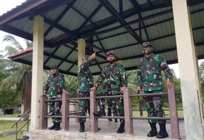 Danlantamal IV Cek Kesiapan Daerah Latihan di Lingga Jelang Latihan Glagaspur TK III/L3