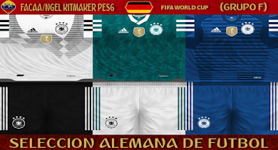 PES 6 Kits Germany National Team World Cup 2018 by FacaA/Ngel