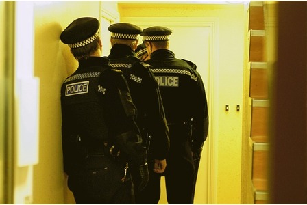 CrimLaw: Can an Officer Enter a Residence to Arrest a Suspect?