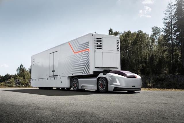 camion volvo-camion fara cabina-camion autonom