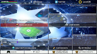 Download New FTS17 Mod PES17 by Ahmad Fahtoni Apk + Data