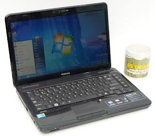Jual Laptop bekas Toshiba L640