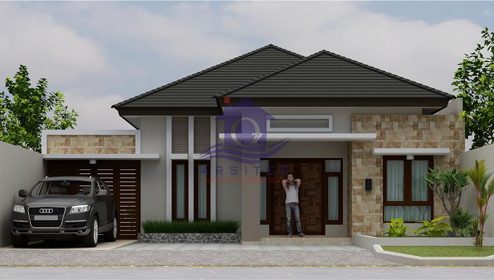 Desain Rumah Ibu Warsito di Kartasura