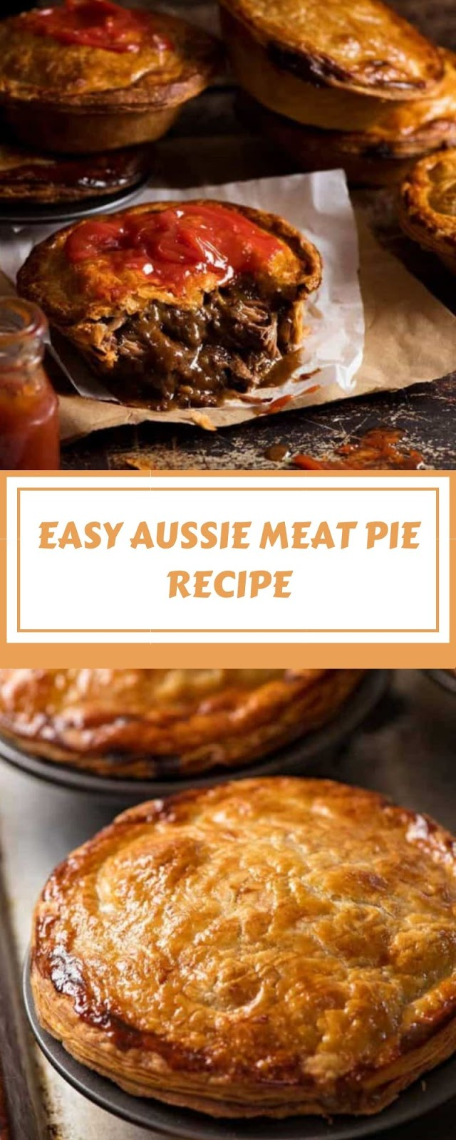 EASY AUSSIE MEAT PIE RECIPE
