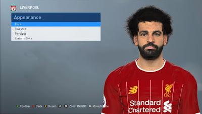 PES2017 Mohamed Salah Face by Abdo Mohamed Facemaker