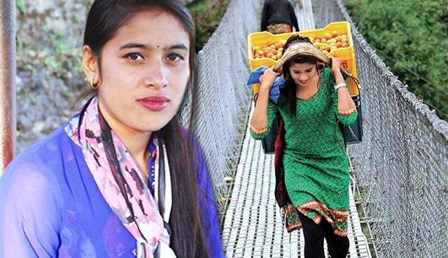 Gadis Cantik Penjual Sayur Tiba-Tiba Menjadi Viral Di Media Sosial