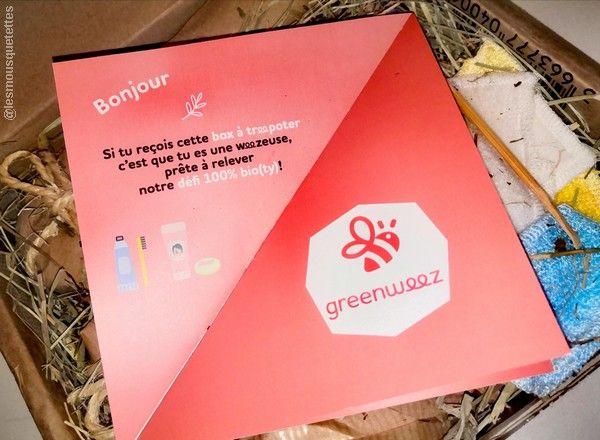 Greenweez, la box à treepoter en cosmétique bio !