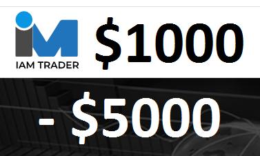 Iam-Trader $1000 - $5000 Forex No Deposit Bonus (Master CopyTrade)