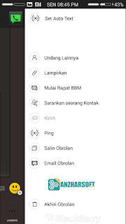 BBM MI- BBM Mod Android dengan Style Ala BBM MIUI
