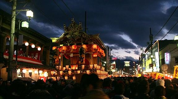 Chichibu Night Festival (Chichibu Yomatsuri), December 2-3, ChiChiBu, Saitama