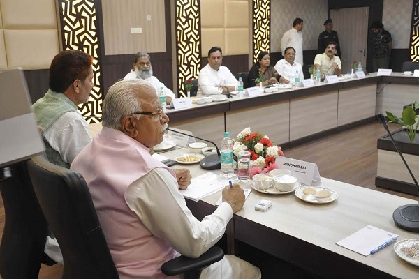 Haryana-Cabinet-Meeting-At-Surajkund-Faridabad