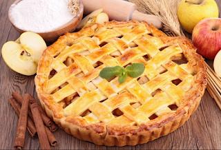 عمل عجينة فطيرة التفاح