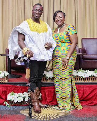 oheneyere gifty's 4 years marriage aniversary