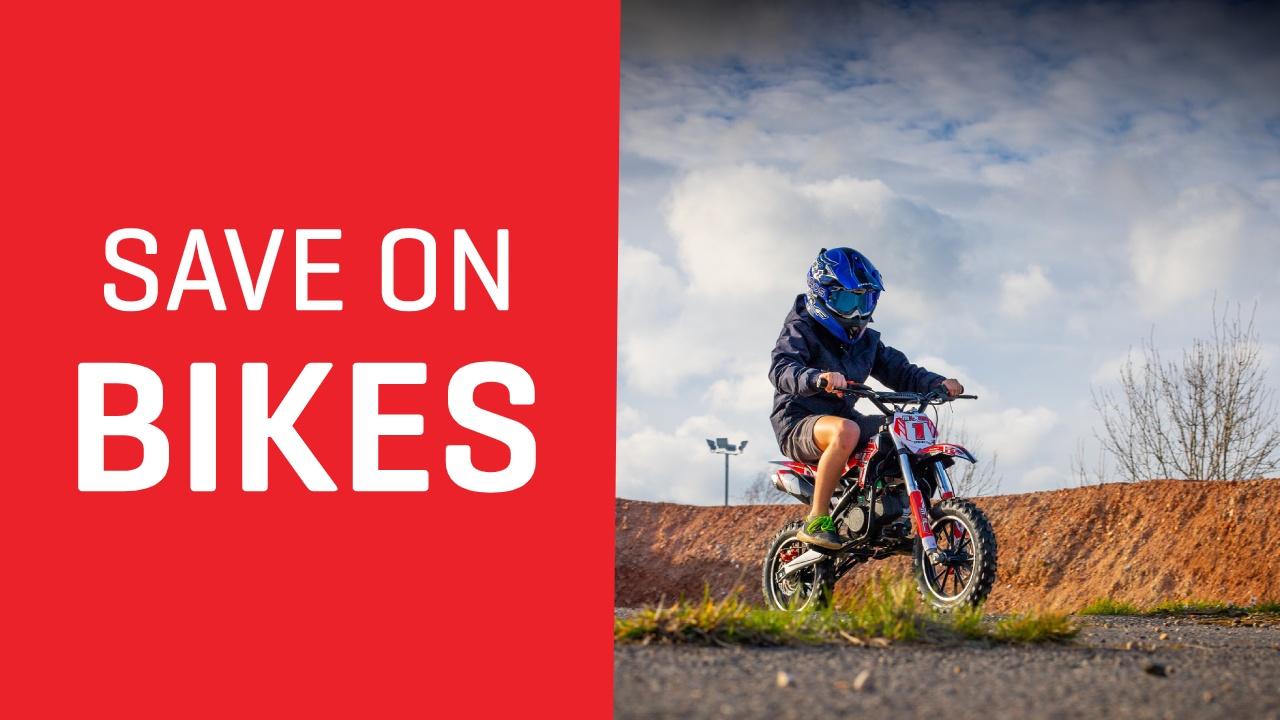 Save on Dirt Bikes at FunBikes