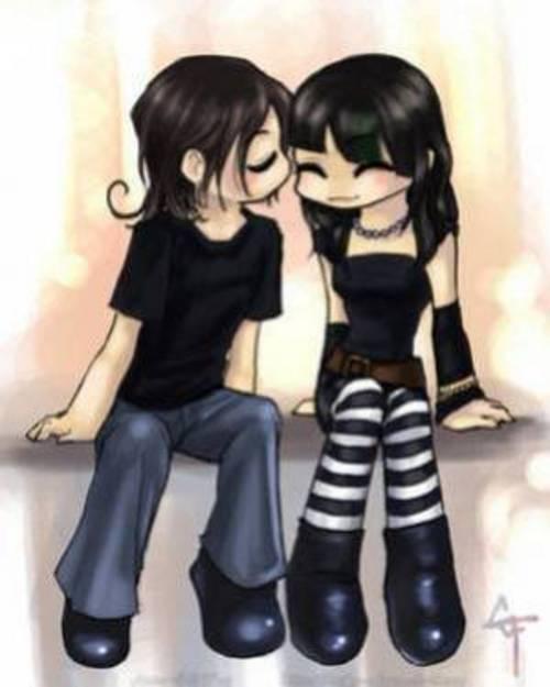 Gifs dibujos parejas enamoradas