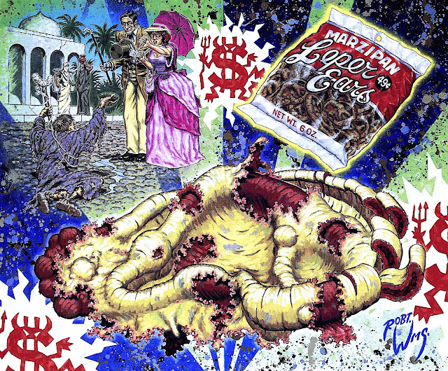 Marzipan Leper Ears 49 cents, a Robert Williams painting