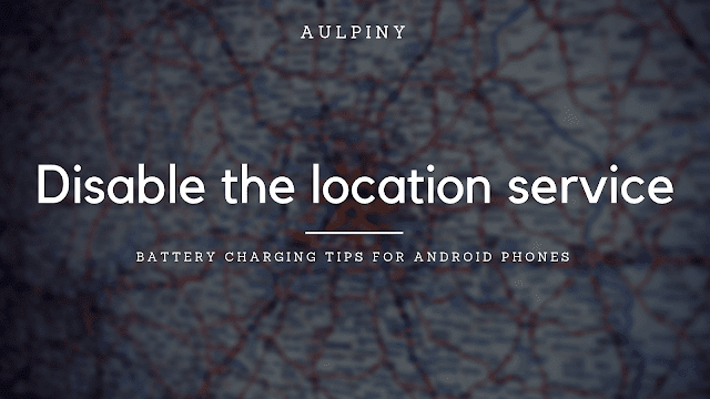 Disable The Location Service