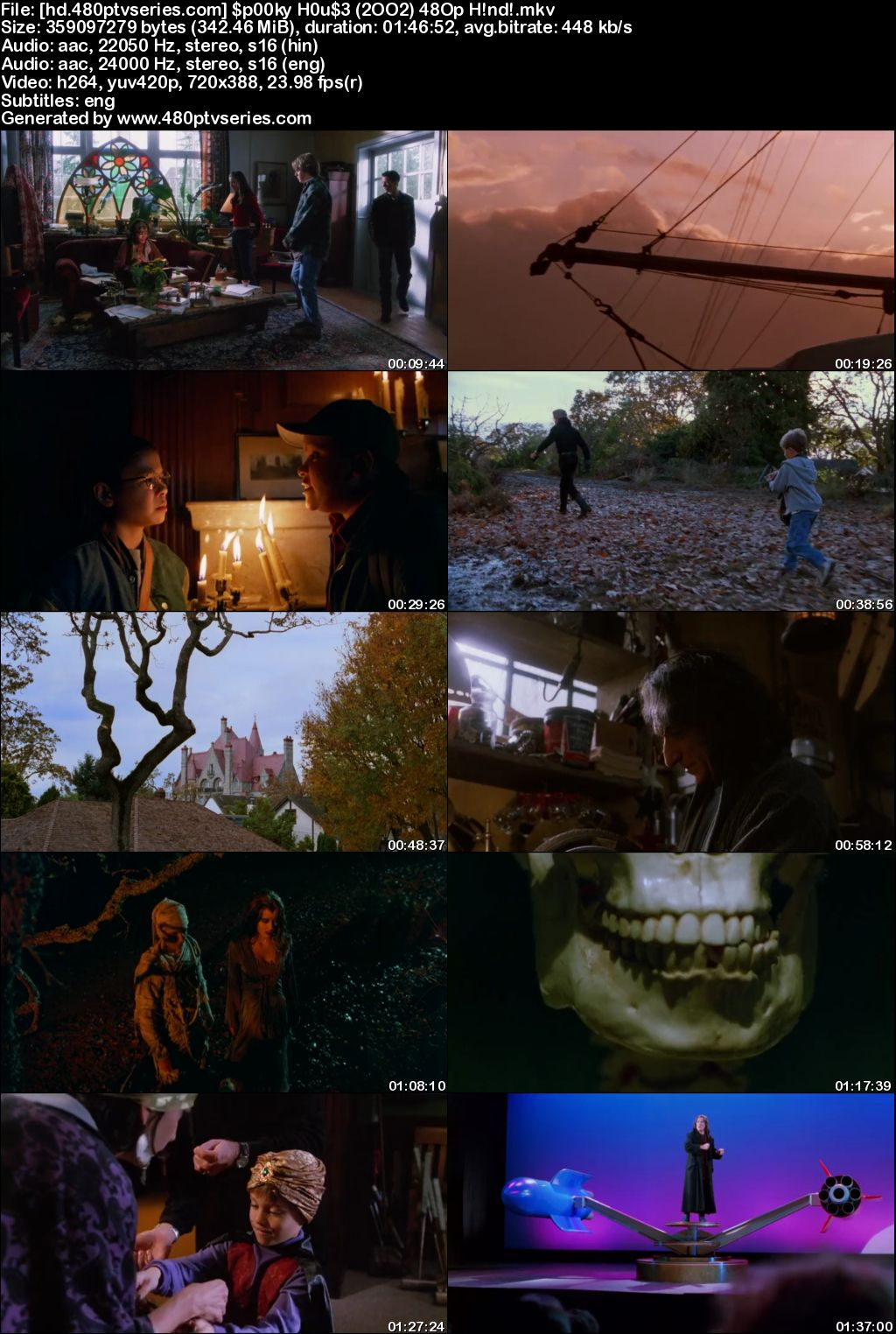 Spooky House (2002) 350MB Full Hindi Dual Audio Movie Download 480p Bluray Free Watch Online Full Movie Download Worldfree4u 9xmovies