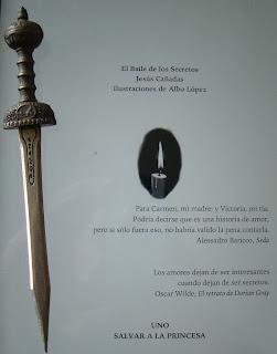 Portada del libro El baile de los secretos, de Jesús Cañadas