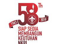 Tema & Logo Resmi HUT Pramuka ke 58 Tahun 2019