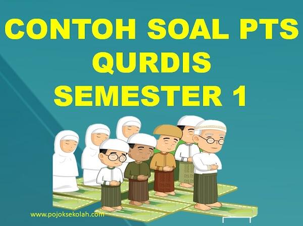 Download Soal PTS Al-Qur'an Hadis Semester 1 Kelas 1 SD/MI Sesuai KMA 183 Kurikulum 2013