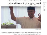 Timteng Ikut Gembira, Judul Berita AlJazeera: 'Gubernur Jakarta Kristen Keok di Hadapan Cagub Muslim'