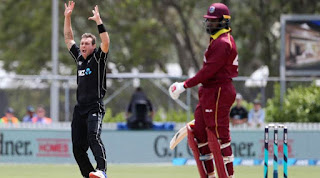 New Zealand vs West Indies 1st ODI 2017 Highlights