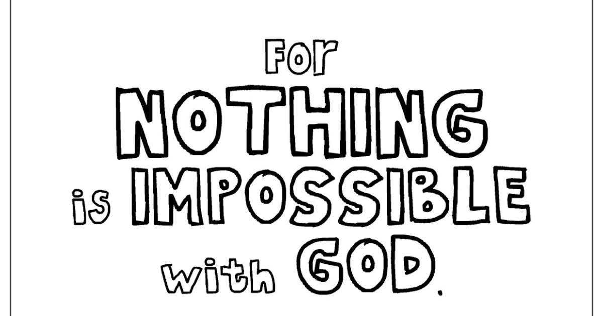 My Cup Overflows Nothing Is Impossible With God