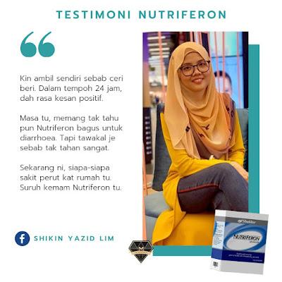 testimoni nutriferon untuk cirit birit