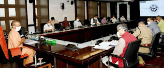 मुख्यमंत्री योगी ने जनपद लखनऊ, कानपुर नगर तथा प्रयागराज में कॉन्टैक्ट ट्रेसिंग में वृद्धि करने के निर्देश दिए