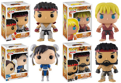 Street Fighter Pop! Games Series 1 Vinyl Figures by Funko