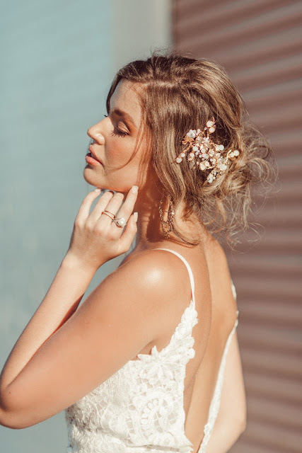 GOLD COAST BRIDAL HEADPIECES HAIRSTYLES WEDDING HAIR