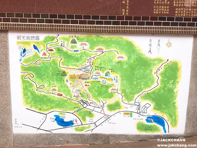 碧山巖觀光遊覽圖