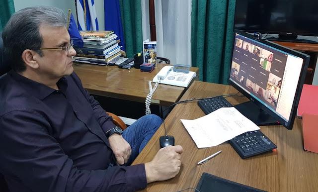 Με επιτυχία από το Επιμελητήριο Αργολίδας η τηλεδιάσκεψη με θέμα τον νέο πτωχευτικό κώδικα