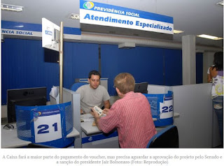 INSS fará levantamento de informais que vão receber voucher de R$ 600; Caixa fará pagamento