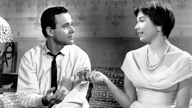 Shirley MacLaine with Jack Lemmon in 1960's 'The Apartment'