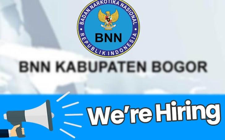 Lowongan Kerja BNN Badan Narkotika Nasional Kabupaten Bogor Tahun 2018