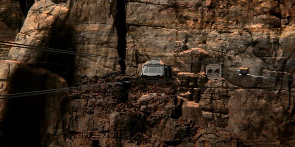 विस्तार के सीजन 5 में मंगल पर केबल कार