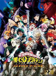 تقرير فيلم اكاديمية بطلي: صعود الأبطال Boku no Hero Academia the Movie 2: Heroes:Rising