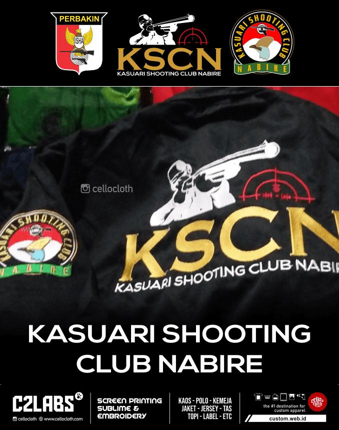 Kasuari Shooting Club Nabire Kemeja Bordir - Konveksi Kemeja Yogyakarta