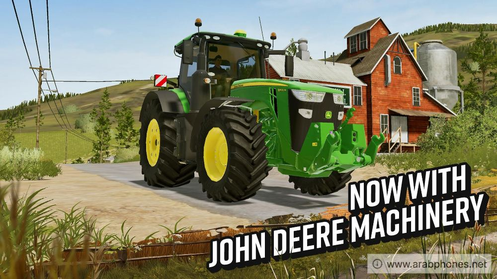 تحميل لعبة  Farming Simulator 20 للاندرويد مهكرة