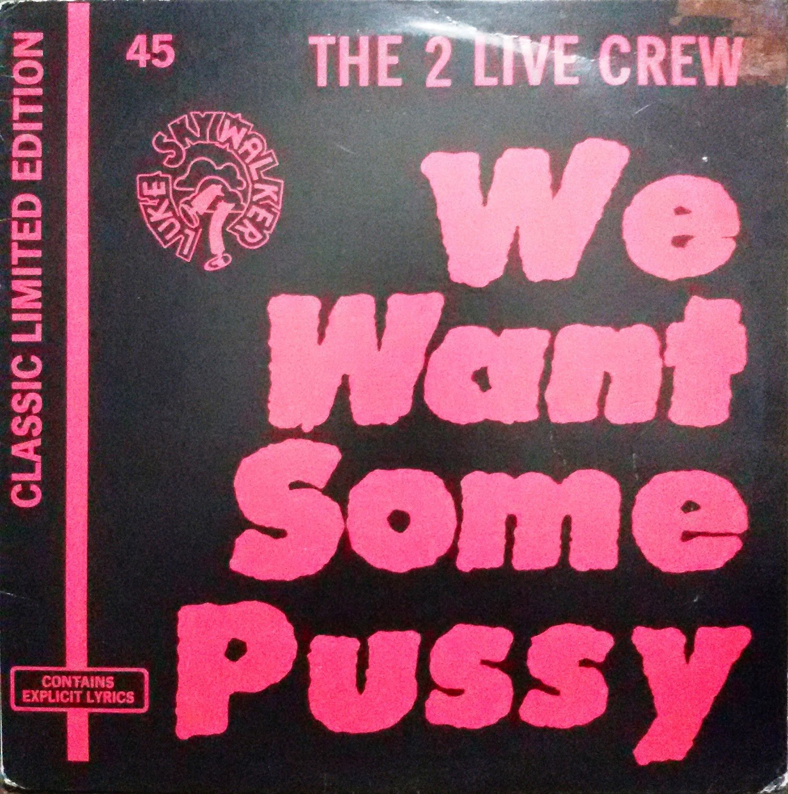 2 live crew we want some pussy lyrics apologise, but