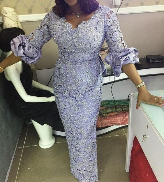 22 Best Nigerian Lace And Aso Ebi Styles And Designs For
