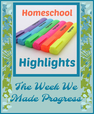 Homeschool Highlights - The Week We Made Progress on Homeschool Coffee Break @ kympossibleblog.blogspot.com