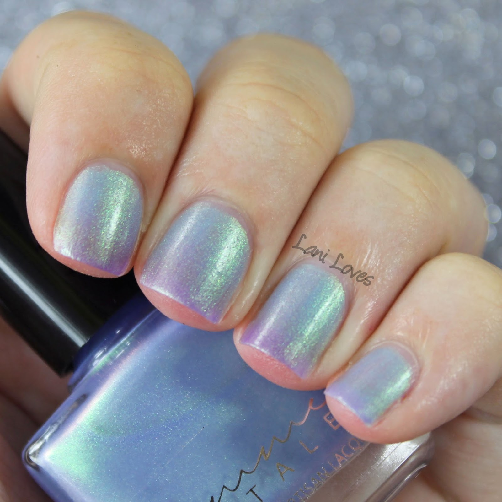 Femme Fatale Cosmetics - Glass Coffin nail polish swatches & review