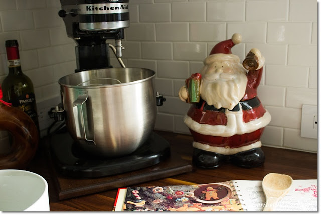 Santa and KitchenAid