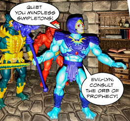 Skeletor tells them to be quiet and commands Evil-Lyn to consult the Orb of Prophecy.