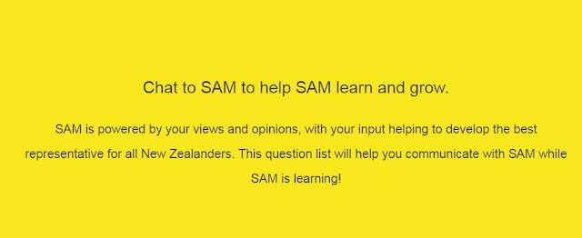 Meet Facebook Messenger's first politician chat robot - SAM