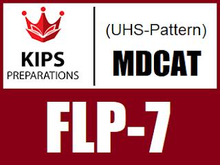 KIPS FLP-7 MCQs For MDCAT (UHS Pattern) - EducatedZone