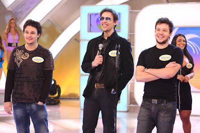 Kiko, Leandro e Bruno (KLB) (Crédito: Roberto Nemanis/SBT)